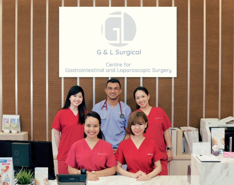 A picture of Dr Ganesh and his team