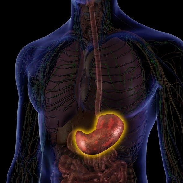 How do I differentiate gastric pain from a stomach ulcer?