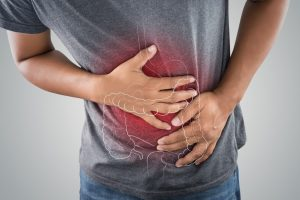 Man suffering from Gastric Pain