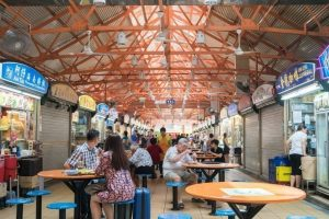 Picture of a hawker center